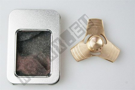 The original super FIDGET SPINNER aluminium gold