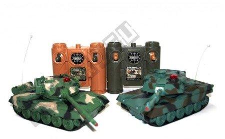 Ein paar kämpfen amerikanische M1A2 Panzer und Chinesisch 96