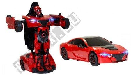 Auto zdalnie sterowane RS X MAN Transformer RASTAR czerwony