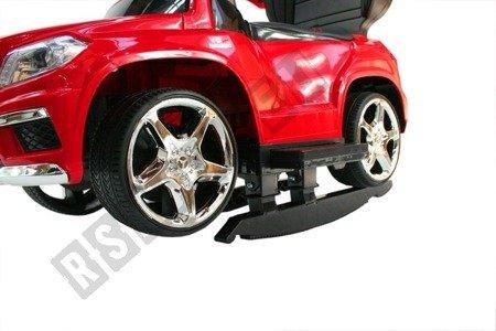 Vehicle pusher Mercedes GL63 AMG red