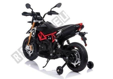Aprilia A007 Electric Ride On Motorbike Black