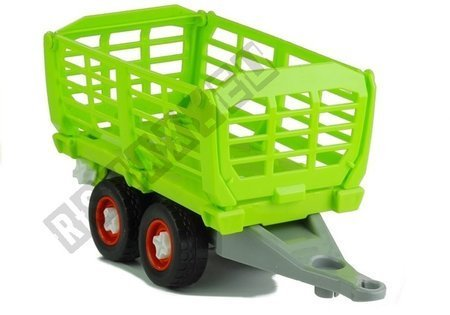 Assembly Tractor with Opened Trailer 43 cm