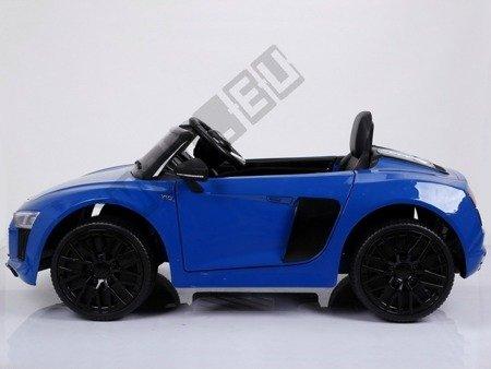 Auto battery Audi R8 Spyder pilot 2, 4 g blue lacquered