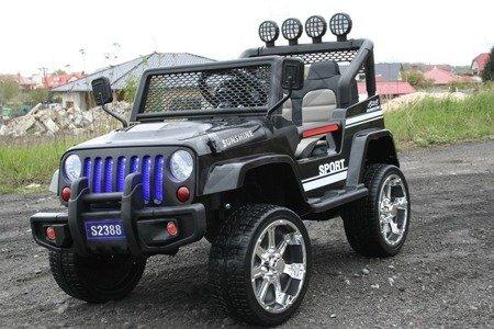 Auto battery Jeep 4 x 4 OFF ROAD Black