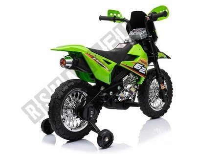 BDM0912 Electric Ride On Motorcycle - Green
