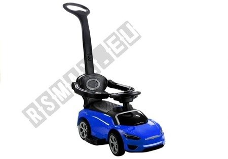 BDQ5199 Toddler's Ride-On with Parent Handle Blue