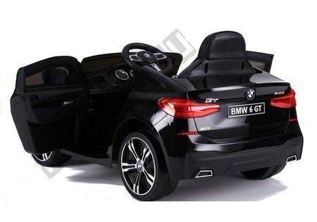 BMW 6 GT Electric Ride On Car Black