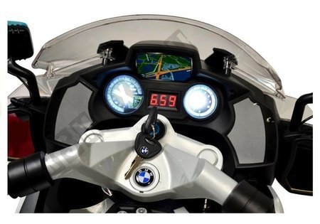 BMW Police Motorcycle Silver - Electric Ride On Motorbike