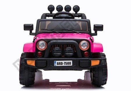 BRD-7588 Pink - Electric Ride On Car
