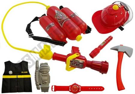 Battery Fireman Kit with Accessories