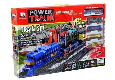 Battery Powered Train 4 Cars 549 cm