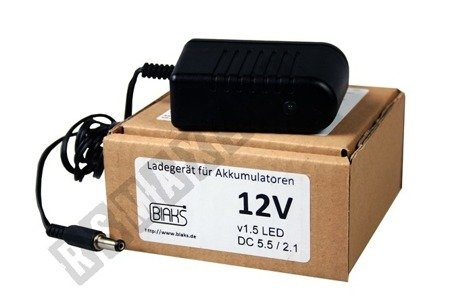Battery charger for 12V battery vehicles