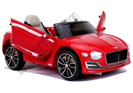 Bentley Electric Ride On Car - Red Painted