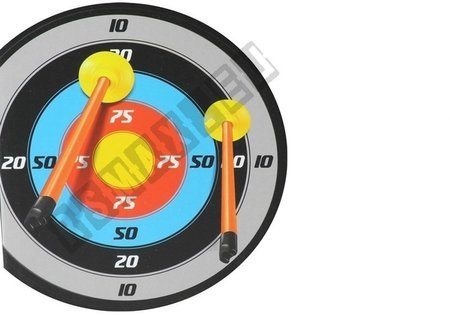 Bow with Target 3 Arrows