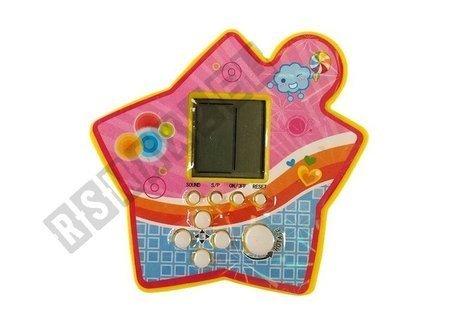 Brick Game Electronic Tetris Portable Star