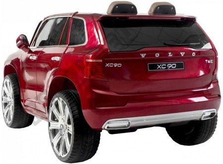 Car on Volvo XC90 battery, red lacquered!