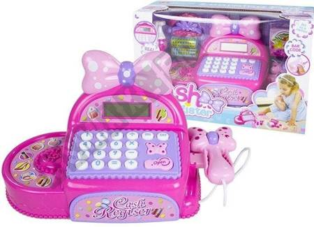 Cash Register With Accessories For Young Hairdresser