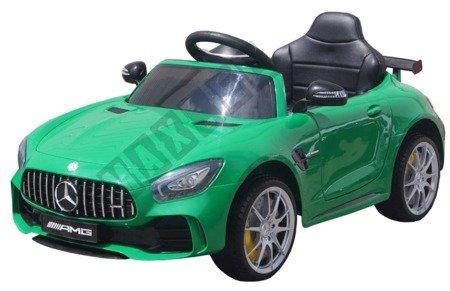 Car on Mercedes GTR license green license!