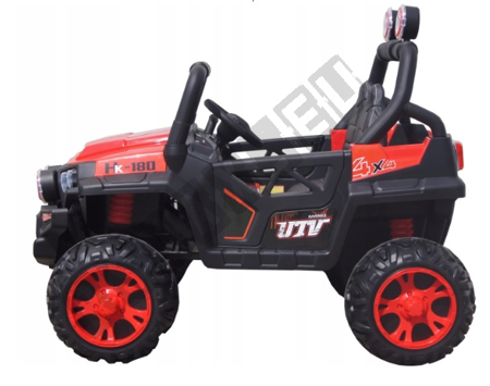 Double car for a Buggy 4x45W red battery