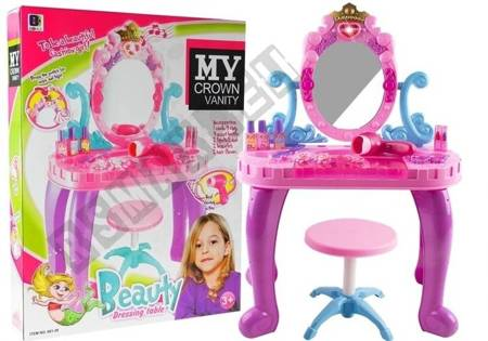 Dressing And Make Up Stand for Princess Mirror Sounds Lights