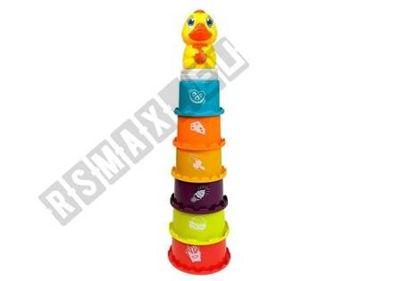 Educational Pyramid For Children Build a Tower, Sorter, Playing in the water