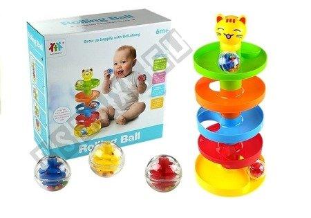 Educational Sorter for Children Slide for Balls