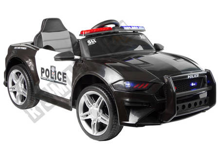 Electric Ride-On Car Police BBH0007 Black