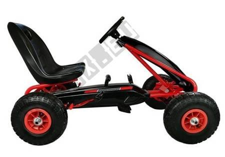 Electric Ride-On Go-kart HP003D Pumped Wheels Black