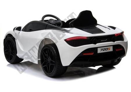 Electric Ride On McLaren 720S White