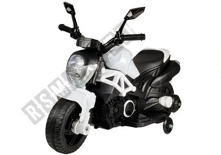 Electric Ride On Motorbike GTM1188 White