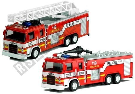 Fire Rescue Truck with Ladder 1:32