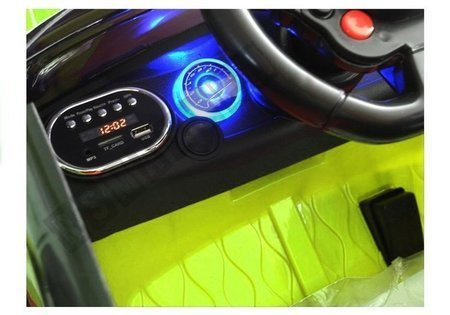 HL1638 Green - Electric Ride On Car