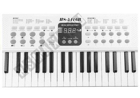 Keyboard Organs HS5416 54 Keys White 70 cm