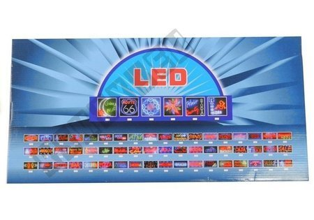 LED Board OPEN 24H Colorful Lights 2786