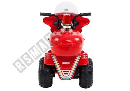 LL999 Electric Ride-On Motorbike Red