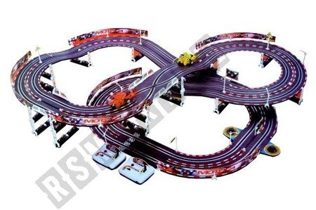 Large double track racing 2 motor scooters 492 cm track