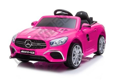 Mercedes SL63 Electric Ride On Car - Pink