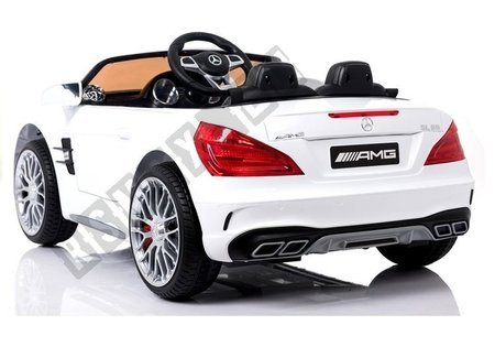 Mercedes SL65 LCD White - Electric Ride On Car