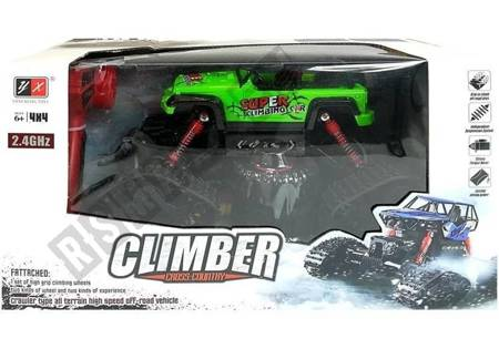 Offroad R/C Jeep Car 4x4 Lime Green