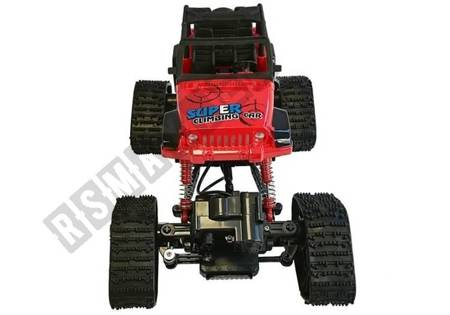 Offroad R/C Jeep Car 4x4 Red