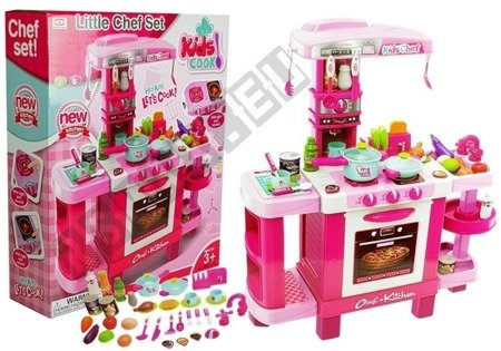 Pink Kitchen for little Chef