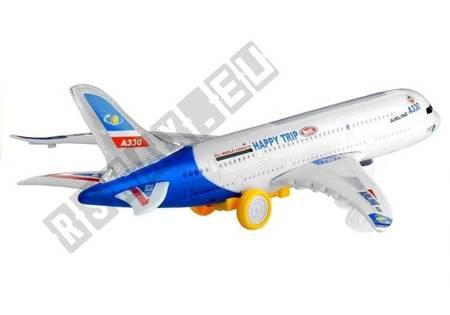 Plane Flashing Noise Making Bump Go 45 cm
