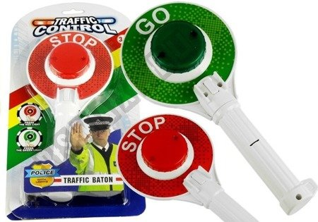 Police Traffic Control Double-Sided Glowing