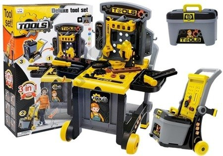 Portable Deluxe Tool Set Workshop in a Toolbox