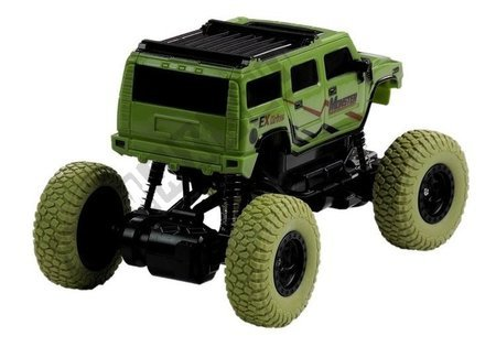R/C Car Jeep Green 1:18