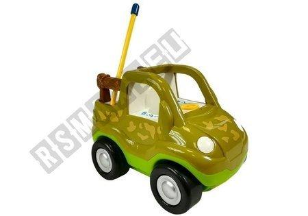R/C Car Safari Style with Dinosaur Dark Green
