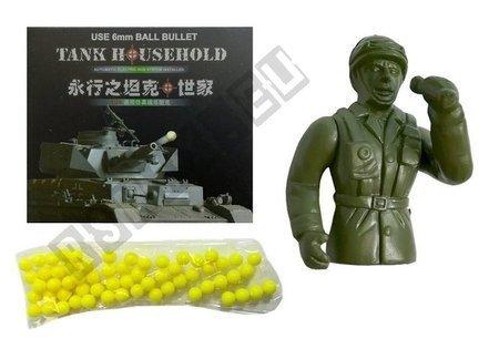 R/C Tank 1:18 Grey