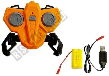 Remote Controlled Motorcycle R/C Orange 2.4G