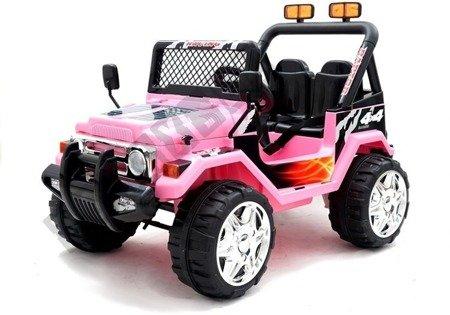 Ride on car Jeep Raptor S618 EVA Pink