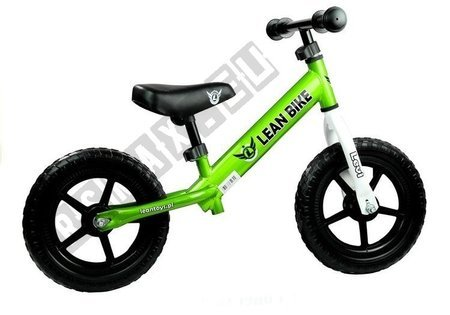 Running Bike LEVI Green EVA Wheels